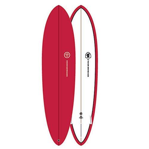 Venon Tabla de Surf Egg 7.6 Pinline Rojo