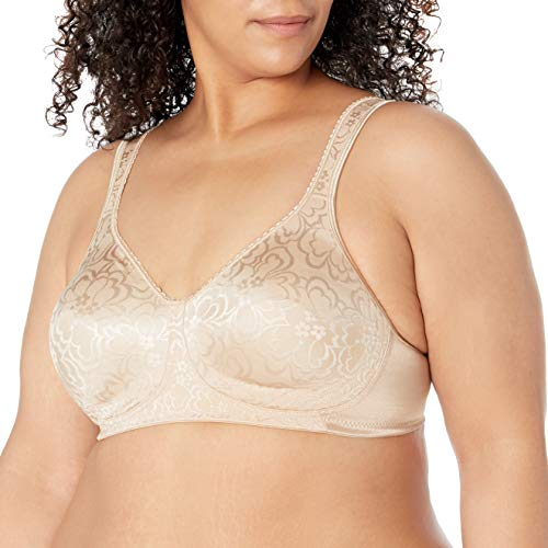 Playtex Women's 18 Hour Ultimate Lift and Support Wire Free Bra US4745, Nude, 48C