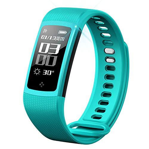YUYLE Smartwatch, horloge, ECG + PPG-elektrode + foto-elektrische test, bloeddruk, hartslagfrequentie, ECG-ademhaling, intelligente sportarmband, blauw