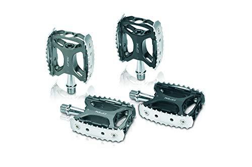 XLC PD-M17 // MTB/Trekking Pedal, Variante:Schwarz/Silber