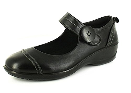 Dr Keller - Merceditas para mujer, color negro, talla Size 7