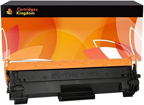 Cartridges Kingdom Cartucho de tóner láser Compatible con HP CF244A 44A para HP Laserjet Pro M15a M15w M16a M16w MFP M28a M28w M29a M29w