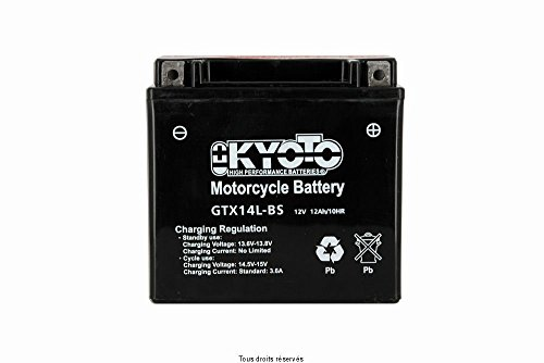 BATTERIE KYOTO HARLEY DAVIDSON XL 1200 X FORTY EIGHT 2010-2012 (YTX14L-BS)