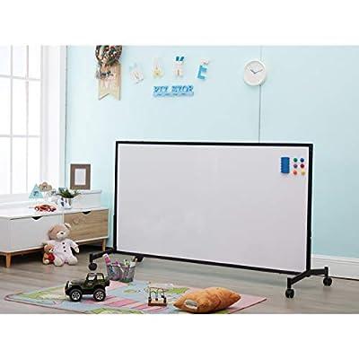 Naomi Home Dawnie Deluxe Teacher's Magnetic Dry Erase Whiteboard Easel