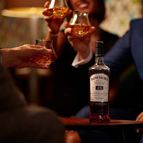 Bowmore 25 Años Single Malt Whisky Escoces, 43% - 700 ml