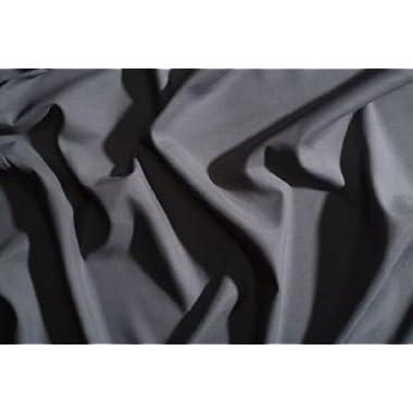 PeachSkinSheets Night Sweats: The Original Moisture Wicking, 1500tc Soft Queen Sheet Set Graphite Gray