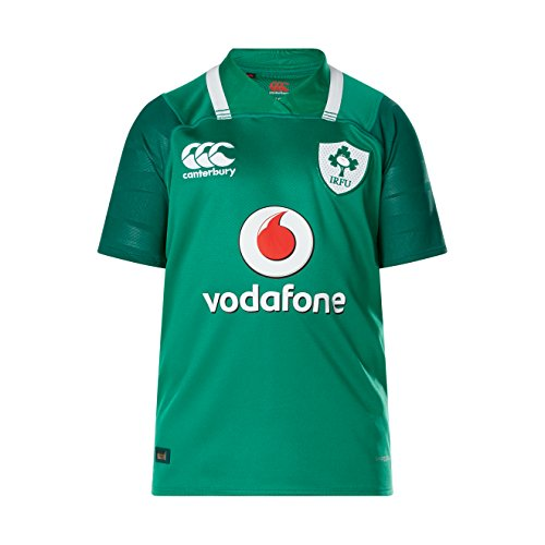 Ireland Rugby Vapodri+ SS Kids Home Pro Jersey 2017