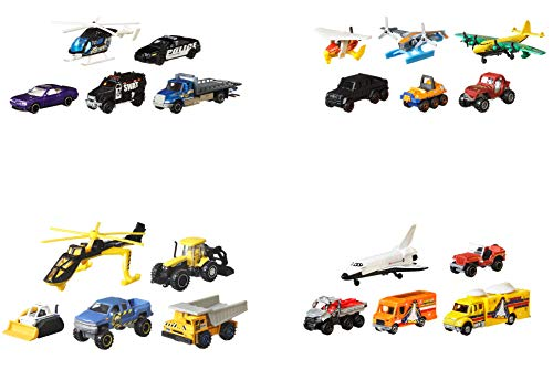 Matchbox Mission Force Play Pack Assortment Story-in-A-Box Multiple Vehicles Different Segments