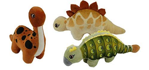 8 Stück Plüsch Dinos Stofftier Plüschtier Kuscheltier Dinosaurier als Mitgebsel