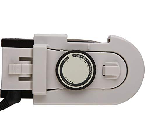 EA-Miao Vêtement portatif à Main Vapeur Mini Pliant Vapeur à Vapeur Vertical et Horizontal Repassage Fusée-Ridée pour la Maison et Le Voyage,White