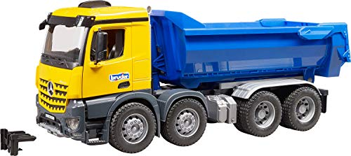 MB Arocs IKW - Camión volquete, (Bruder 3623)