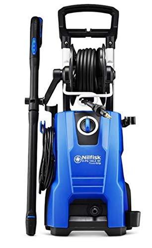 Nilfisk D 140 bar Hochdruckreiniger mit PowerGrip-Leistungsregulierung (inkl. Patio Cleaner Flächenreiniger)