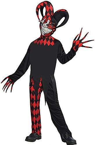 hasta 60% de descuento Delights Disfraz de bufón del Mal Mal Mal enloquecido rojo de Halloween para Niños Teen (14-16 Years)  tienda de pescado para la venta