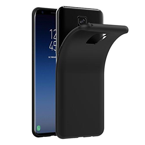 VGUARD Coque Samsung Galaxy S9 [Ultra Noir Silicone en Gel TPU Souple ] Housse Etui Coque de Protection avec Absorption de Choc et Anti-Scratch pour Samsung Galaxy S9