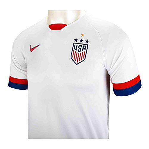 Nike USA 2019 Youth Home Jersey (White, Youth X-Large)