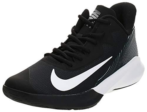 Nike Precision IV, Sneaker Unisex Adulto, Negro/Blanco, 42.5 EU