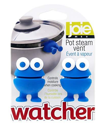 Joie Kitchen Gadgets 49033 Joie Pot Watchers Pan Dampföffnungen, 2 Stück, Silikon, Zufällig