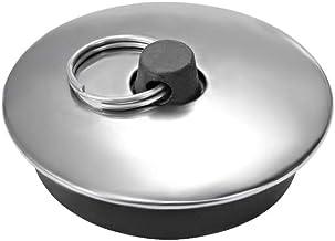 Tappi in Gomma per lavandino per Vasca da Bagno con Anello per appenderlo KUKU ZHEN 8 Pezzi 4 Misure Cucina e Bagno