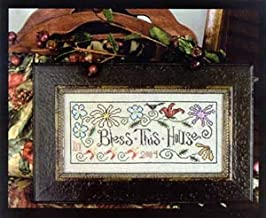 Bless This House Cross Stitch Chart
