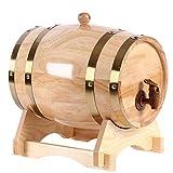 Barril de roble Mini barril de vino Alcohol Barril de cerveza Bar Decoración