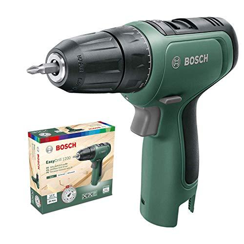 Bosch Home and Garden 06039D3000 Bosch Taladro/Atornillador EasyDrill 1200 (sin batería, Sistema de 12 V, en Caja de cartón), Verde