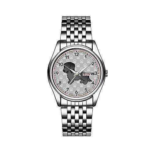 Reloj de lujo para hombre, 30 m, impermeable, fecha, reloj de pulsera...