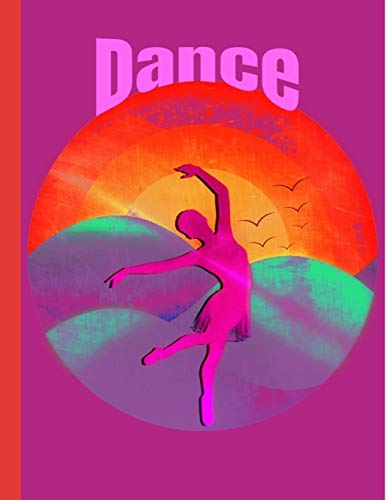 Dance: This Dance notebook is perfect for school! Every dance lover and enthusiast will love having this in their school bag!
