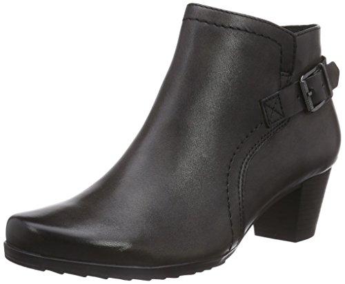 Caprice 25309, Damen Kurzschaft Stiefel, Grau (DARK GREY 205), EU 39 (6 Damen UK)