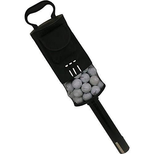 Golf Ball shag Bag II Pick Up Grabber Retriever Convenient Pocket and tees Holder Capacitity of 80 Balls