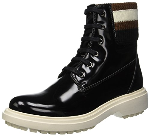 Geox Damen D ASHEELY B Biker Boots, Schwarz (Black C9999), 40 EU