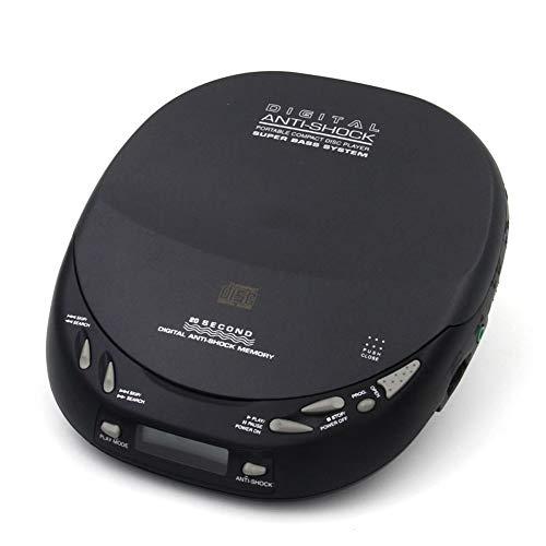 HHHKD Retro muziekspeler, draagbare persoonlijke cd-speler met track programmeerbaar geheugen, CD Walkman met oortelefoons, het beste cadeau voor kinderen