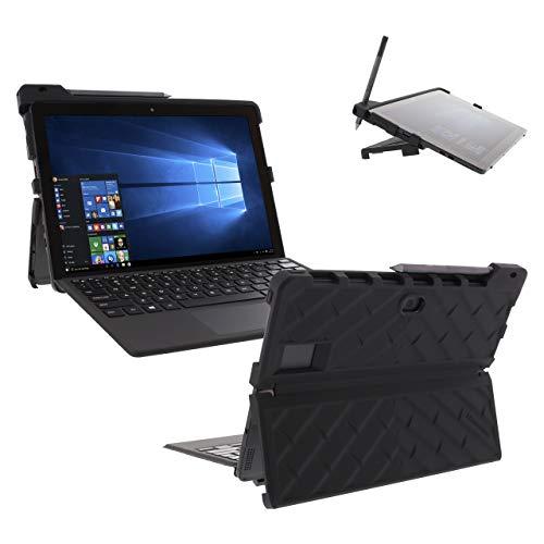 Capa Gumdrop Droptech projetada para laptop – absorção de choque, resistente, proteção extrema contra quedas, Preto, Dell Latitude 5285/5290 2-in-1 Tablet (T17G)