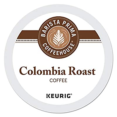Barista Prima Coffeehouse Dark Roast Extra Bold K-Cup for Keurig Brewers