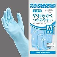 樹から生まれた手袋 グッドネ うす手 10双セット (M, ブルー)