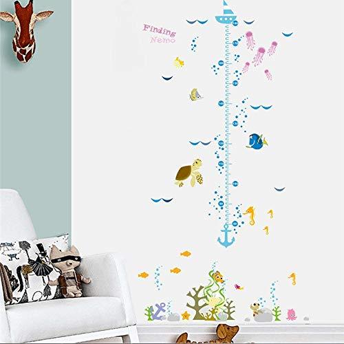 artaslf podwodny świat, bukłak rybny, dla dzieci, diagram działania, naklejka ścienna do pokoju dziecięcego, naturalny domek dla zwierząt, dekoracyjna naklejka