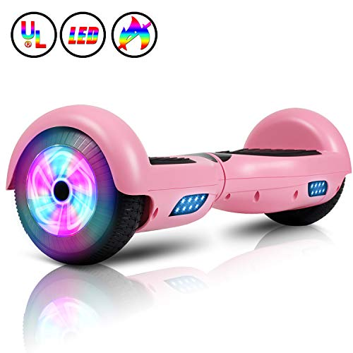 "OVERBOARD 8/"" SMART BALANCE SKATEBOARD ELETTRICO LED SCOOTER MONOPATTINO 2 RUOTE"