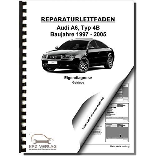 Audi A6 Typ 4B 1997-2005 Eigendiagnose Multitronic Getriebe 01J Reparaturanleitung