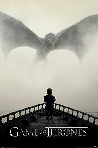 Close Up Game of Thrones Poster A Lion & A Dragon (61cm x 91,5cm)