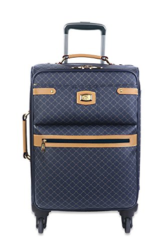 Rioni Small 21' Spinner Carry On Luggage - Signature Navy