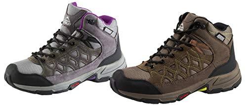 McKinley Cisco Hiker AQX W Chaussures de trekking pour femme - Vert - vert, 36 EU
