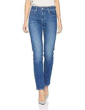 Levi s Women s Classic Mid Rise Skinny Jeans Pants -blue show Tune 32  US 14  R
