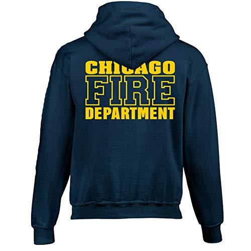 Chicago Fire Dept. - Pullover mit Kapuze für Kinder (XL (176))
