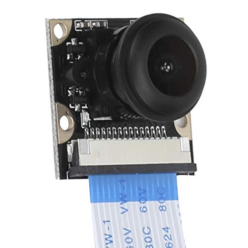 Módulo de cámara de visión nocturna de ojo de pez, portátil, 130°, compatible con pi 4B/3B +/3B/2B, con 4 agujeros para tornillos