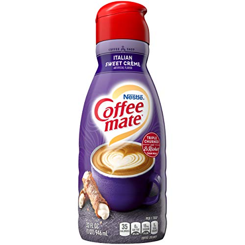 Nestle Coffee mate Italian Sweet Creme Liquid Coffee Creamer