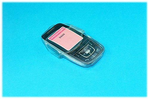 Condom Hülle/Kondom Tasche für SAMSUNG SGH-D600/D608 transparent Handy Condomcase