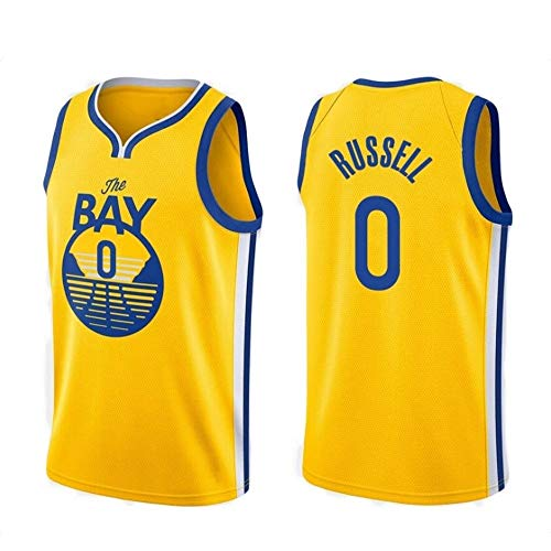 LHYAN Jersey Baloncesto (D'Angelo Russell-0) Camiseta de Baloncesto de Secado rápido Unisex Hombre de Deportes al Aire Libre for los Regalos for los niños y la Camiseta (Color : C, Size : XL)