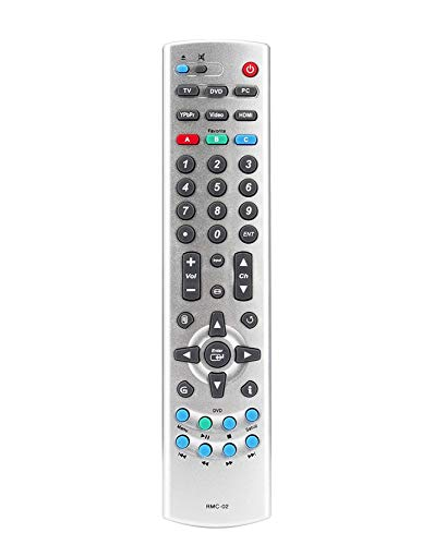 Pehtini New RMC-02 Replaced Remote fit for Westinghouse TV SK26H590 SK26H590D SK32H590 SK32H590D SK32H590DA SK40H590D VK40F580D VK40H580D SK-32H570D SK-26H570D