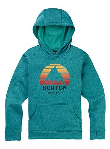 Burton Jungen Oak Fleece Pullover, Green-Blue Slate Heather, XL