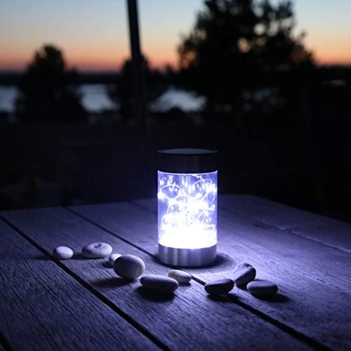 Frostfire Lazespark - Lampada solare da giardino e tavolo