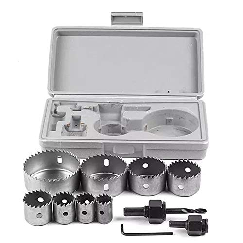 Hole Saw Cuttter Drill Bits 19-64mm 11pcs Hole Saw Cuttter Drill Bits Home Tool YAGMGUS Drill Tool